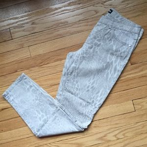 💛 GERRY WEBER pale cheetah print pants 40/10